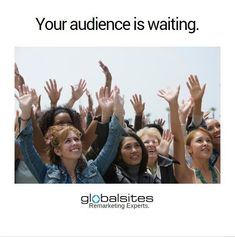 They're literally just waiting for you to remind them of your service or product. ⏰  Remind them why you're the best at what you do. Give them just a taste, a tease if you will.   Put your ads in front of them at the right time, in the right place.  The remarketing experts at Globalsites are ready to increase your sales.  #digitalmarketing #advertising #agencylife #digitalagency #business #audience #marketing #sales