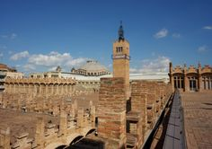 The streets and rooftop views of the Caixa Forum http://mikestravelguide.com/things-to-do-in-barcelona-visit-the-caixa-forum/ #Barcelona #Architecture #Spain #travel #art Visit Barcelona CaixaForum
