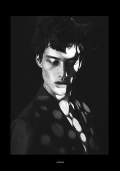 Sylvester Ulv Henriksen shot by Emmanuel Giraud and styled by Benjamin Armand with pieces from Balmain, Raf Simons, Giorgio Armani, Juun J and more, for the Fall/Winter 2013 coverstory of 160G magazine.