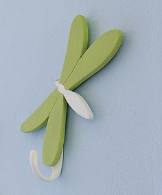Take a look at this Dragonfly Hook by Heart to Heart on Zulily today! Cute hook for robe, towel or...! <3