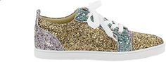 Christian Louboutin Orlato Glitter Rub Sneakers
