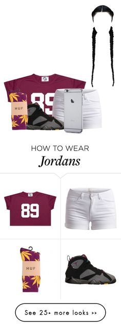 """Untitled #52"" by mommy-ii on Polyvore featuring Pieces, BP. and HUF"
