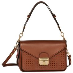 Hobo bag S, Handbags, Cognac