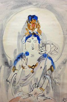 Nakagawa Kigen 中川紀元 (1892-1972), detail.
