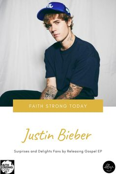 """On Easter Sunday, Canadian pop star Justin Bieber surprised his fans by quietly releasing a six-song gospel EP called Freedom. Bieber posted the announcement on social media to immediate reactions of shock, gratitude and overwhelm. His Instagram post featured an image of the album cover, a screenshot of the word """"Freedom"""" written on a mobile phone notes app, and a tracklisting. His caption for the announcement on Twitter read, """"Freedom on all platforms."""" Writing Portfolio, Writing Styles, Justin Bieber, Album Covers, Announcement, Faith, The Incredibles, Social Media, Songs"""