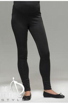 Colanţi negri din bumbac Pants, Fashion, Moda, Trousers, Women Pants, Fasion, Women's Pants, Trendy Fashion, La Mode