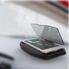 WINDSCREEN HEADLAMP FOR A CAR - all the information on your phone's interface will be visible to you and in front of your eyes at all times. You don't have to bend over to get them. Phone Packaging, Head Up Display, Heads Up, Gps Navigation, Car Accessories, Smartphone, Times, Auto Accessories