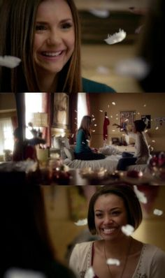 """#TVD 6x22 """"I'm Thinking Of You All The While"""" - Bonnie and Elena Serie The Vampire Diaries, Vampire Diaries The Originals, Vampires, Damon And Stefan Salvatore, Klaus The Originals, The Salvatore Brothers, Ian Somerhalder Vampire Diaries, Im Thinking About You, Bonnie Bennett"""