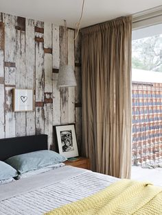 Piet Hein Eek Scrapwood Wallpaper - the only wallpaper that has ever purred so seductively!