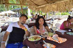En el restaurante Ohana - Playa Las Ánimas - Tour Arcos, Ánimas & Quimixto