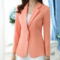 9090105adc8 The New high quality Autumn Spring Women s Blazer Elegant fashion Lady  Blazers Coat Suits Female Big S-5XL code Jacket Suit