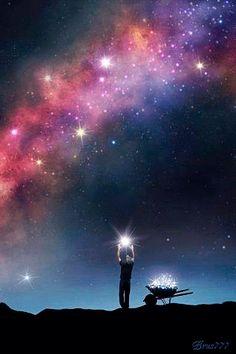 le ramasseur d'étoiles et d'espoir...!