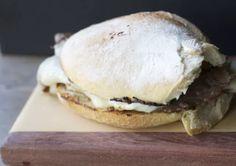 Sandwich  Barros Luco chileno