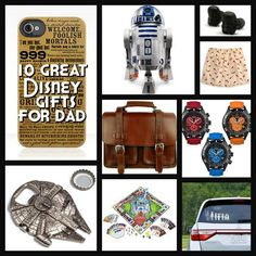 Awesome ideas for Disney- and Star Wars-loving Dads this holiday season!