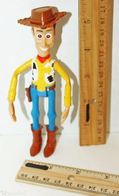 "WOODY COWBOY FROM DISNEY PIXAR TOY STORY MCDONALD 5.5"" FIGURE HAPPY MEAL 2005 #Disney"