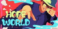 BTS fanart J-hope hope world  Daydream mixtape
