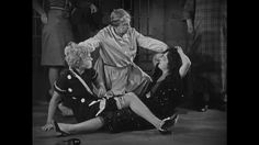 Roxie and Velma fight in prison in the 1927 version of 'Chicago'