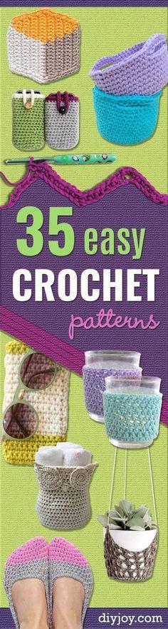 35 Easy Crochet Patt