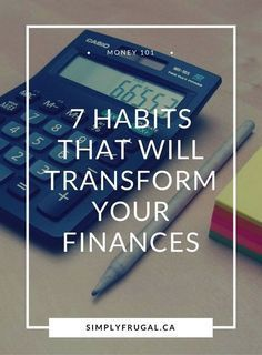 7 Habits that Will Transform your Finances. Money Saving Tips. Budgeting Finances, Budgeting Tips, Money Tips, Money Saving Tips, Saving Ideas, Managing Money, Grocery Savings Tips, Making A Budget, Financial Tips
