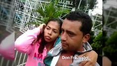 Una pareja robando un cel en Florida Nueva Bello. Gracias a la comunidad...
