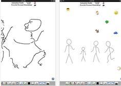 3 apps de animación