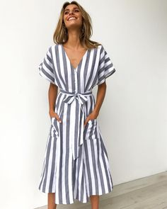 Pretty Outfits, Cute Outfits, Pretty Clothes, Cute Dresses, Summer Dresses, Casual Outfits, Fashion Outfits, Women's Fashion, Breastfeeding Clothes