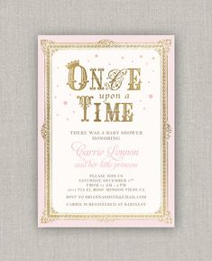 Once Upon A Time Baby Shower Invitations - √ 27 once Upon A Time Baby Shower Invitations , once Upon A Time Baby Girl Shower Invitation Bridal Burlap Baby Girl Shower Themes, Baby Shower Princess, Baby Shower Invites For Girl, Baby Boy Shower, Princess Party, Shower Party, Baby Shower Parties, Shower Time, Invitation Baby Shower