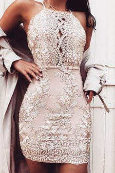 Crystal Rose Dress