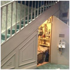 Cabinets Under Stairs fascinating under stair storage ideas for your new home: pictures