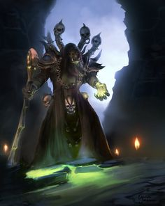 Gul'dan by Lnterrupted.deviantart.com on @DeviantArt