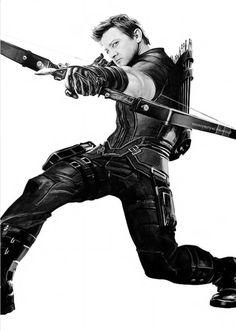 Jeremy Renner as Hawkeye Clint Barton, Marvel Comics, Marvel Heroes, Marvel Dc, Jeremy Renner, Hawkeye Avengers, Loki Thor, Loki Laufeyson, Vkook Memes