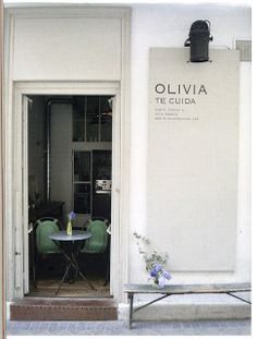 olivia te cuida, located in madrid. the best meal i've ever enjoyed.