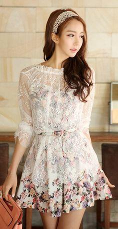 Luxe Asian Women Design Korean Model Fashion Style Dress Luxe Asian Women Fashion 2