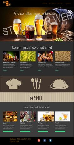 Hullár József - Weblap Tequila, Budapest, Lorem Ipsum, Illustrator, Photoshop, Illustrators