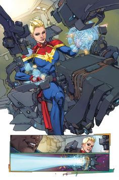 THE ULTIMATES #1 preview//Kenneth Rocafort/R/ Comic Art Community GALLERY OF COMIC ART