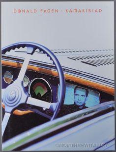 Rare 1993 DONALD FAGAN - KAMAKIRIAD Sheet Music Song Book Piano Vocal Guitar