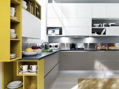 дневник дизайнера: Как зрительно увеличить пространство маленькой кухни?