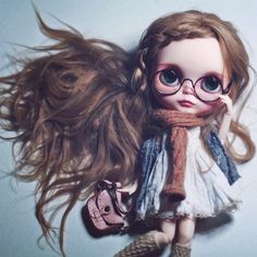 ✨Penny✨SOLD / #ブライス #カスタムブライス #ネオブライス #カワイイ #gbaby #gbabydolls #customblythe #blythe #doll #blythedoll #blythecustom #art #barbie #monsterhigh #pullip #bjd #kawaii #art #bjd #balljointeddoll #makeup #mua #fashion