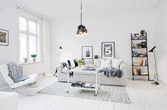Ideas de decoración: tarima blanca
