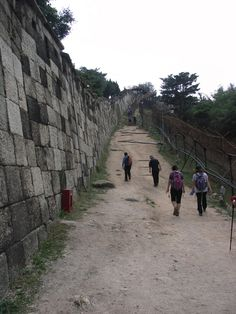Seoul Fortress 서울 성곽길. 와룡공원-말바위 쉼터-숙정문-창의문 6