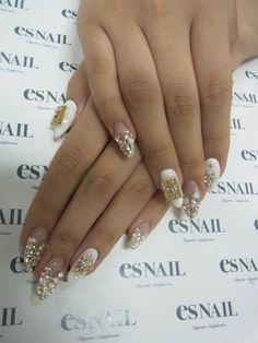 nails #nail #nails #nailart #unha #unhas #unhasdecoradas #branco #white