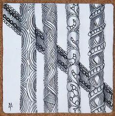 Zentangle - More doodle ideas - Zentangle - doodle - doodling - zentangle patterns. zentangle inspired - #zentangle #doodling #zentanglepatterns