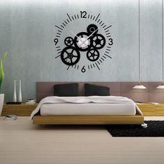 horloge comtoise esprit industriel en acier et ancien. Black Bedroom Furniture Sets. Home Design Ideas