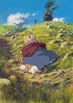Howls Moving Castle...my grandaughters are infatuated with this story