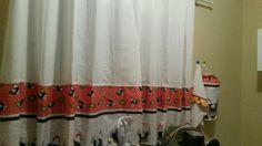 cortina de cozinha de galinha