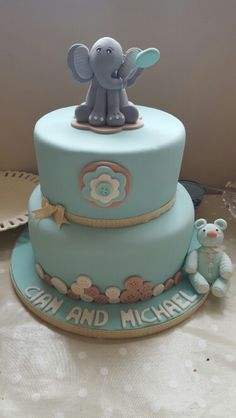 Cian and Michael's cake from the Artisan Pantry in Lucan.