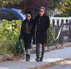 Robert Pattinson and FKA Twigs in Toronto
