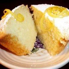 Griekse citroencake