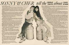 Sonny & Cher Tell the Whole Truth About Each Other