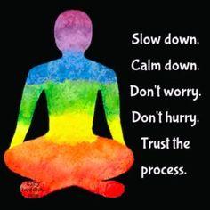 Slow Down, Calm Down